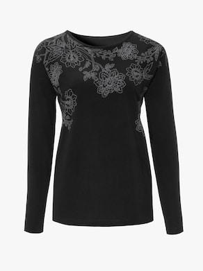 Tričko - Čierna potlač