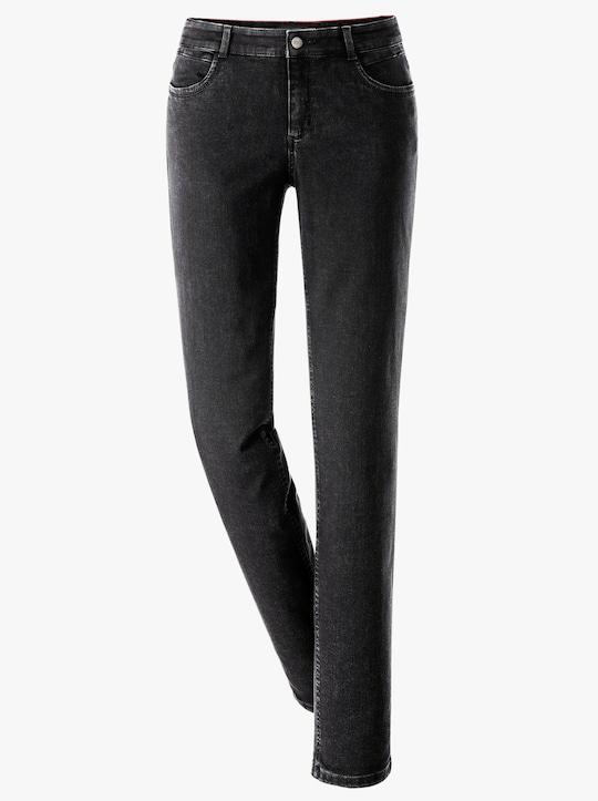 Ascari Premium-Jeans - schwarz