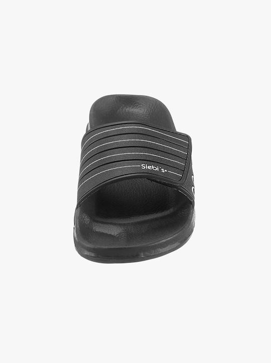 Koupací pantofle - černá