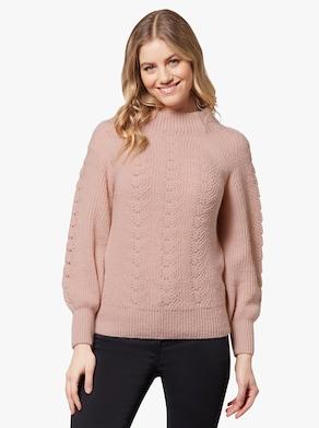 Pullover - poudre