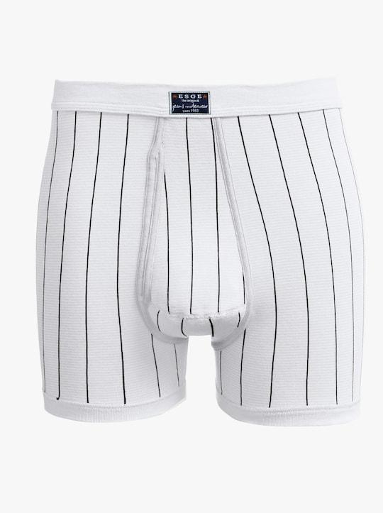 ESGE Krátké kalhoty - bílá-proužek