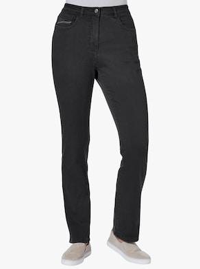 Stretch-Hose - schwarz