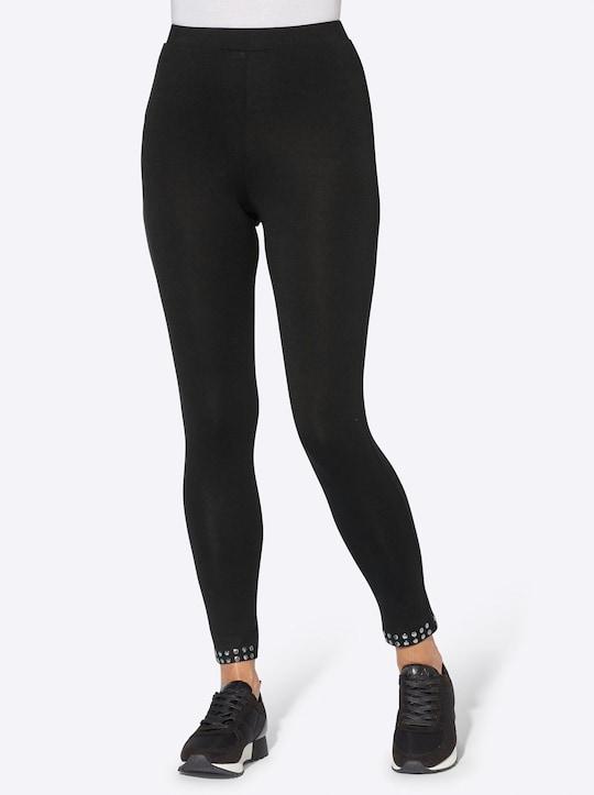 Leggings - schwarz