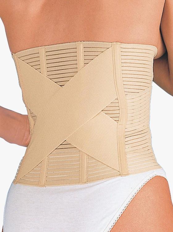 Bauch- und Rückenstützgürtel - haut