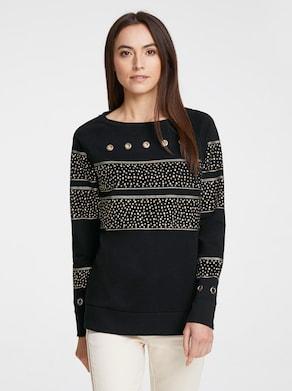 Rick Cardona sweatshirt - zwart