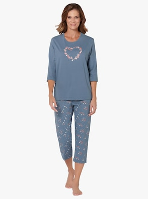 Schlafanzug - jeansblau