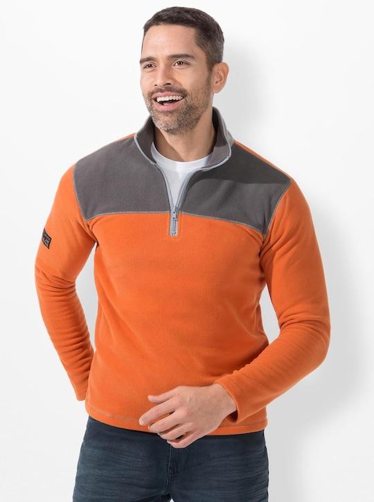 Catamaran Sports Fleece-Shirt - kürbis
