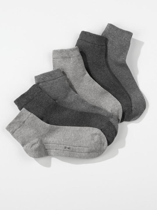 Camano Kurzschaft-Socken - grau