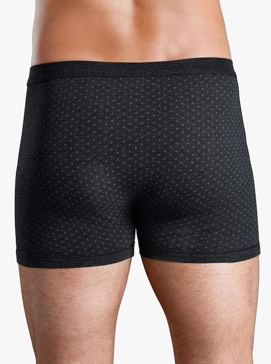 ESGE Krátké kalhoty - antracitová-potisk