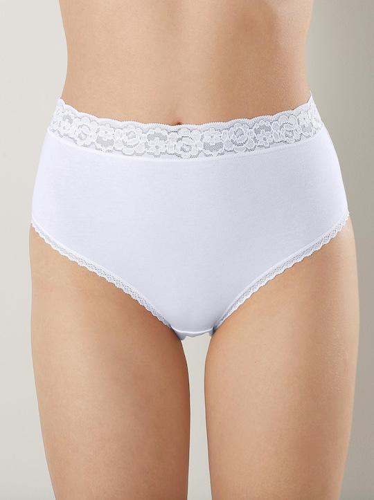wäschepur Slip - weiß