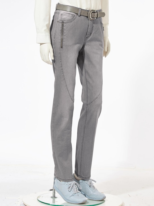 Collection L Jeans - grey-denim