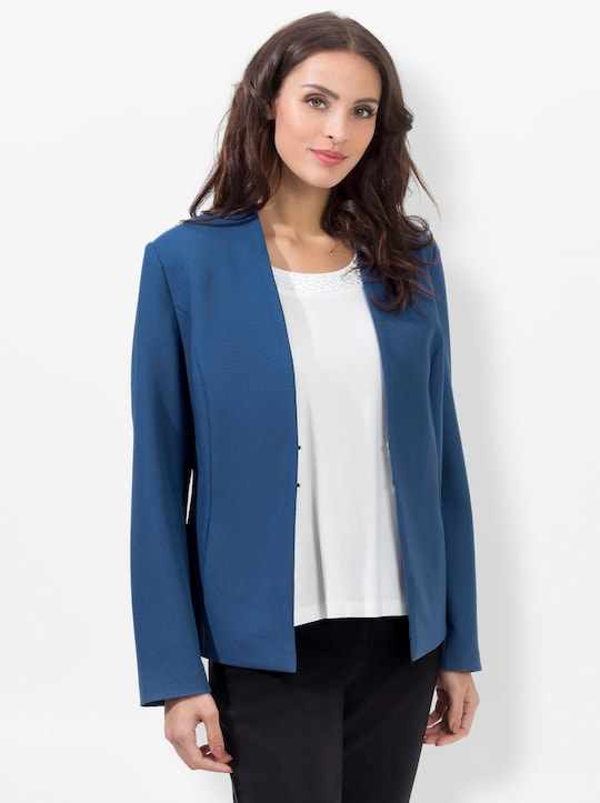 Fair Lady Shirtblazer - jeansblau