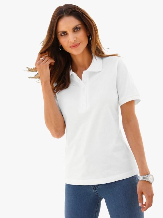 Poloshirt - weiß
