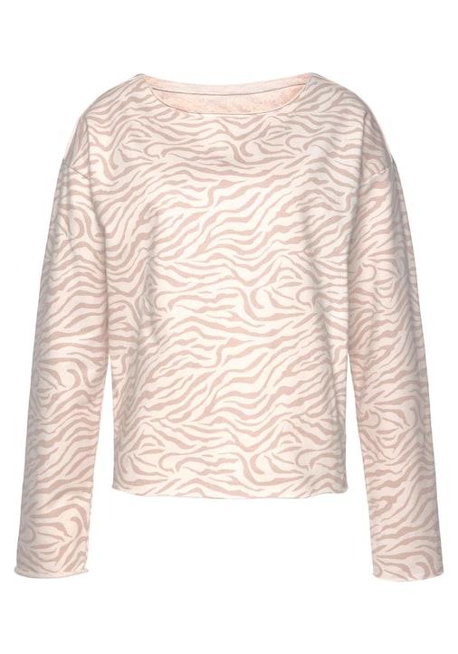 LASCANA Sweatshirt - nougat-beige