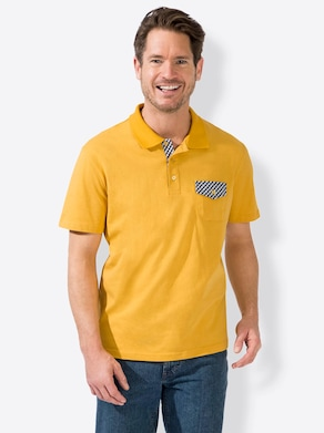 Catamaran Kurzarm-Shirt - gelb