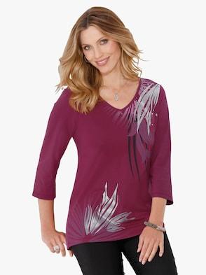 Tričko - Fuchsia-vytlačiť