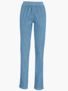 Džínsy - bielená modrá