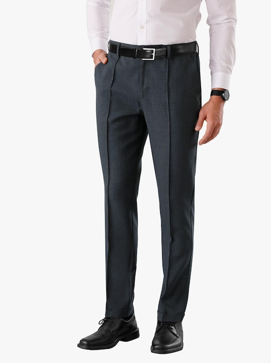 Kalhoty - šedá-melír