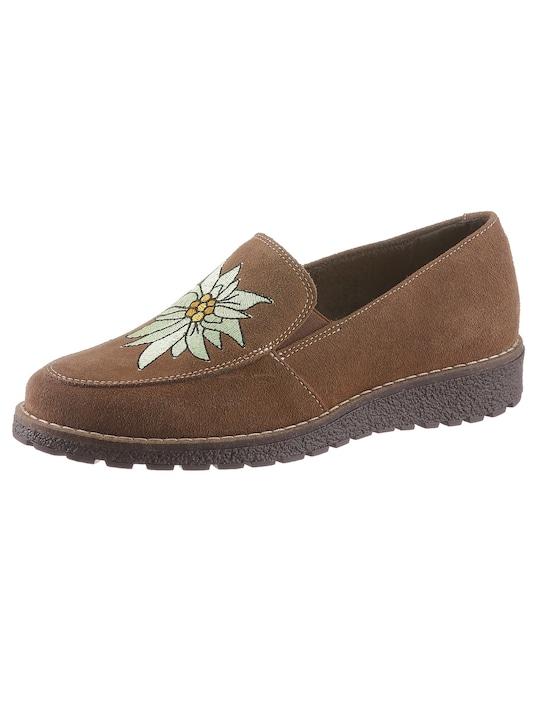 Filipe Shoes Mokassin - camel