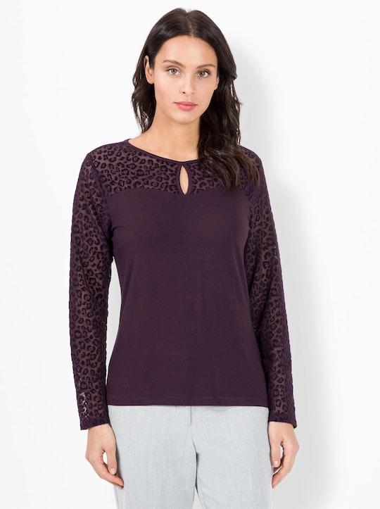 Fair Lady Shirt - aubergine