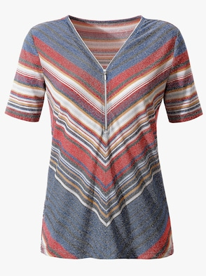 Shirt - bunt-gestreift