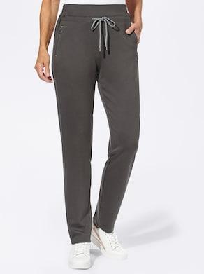Jersey-Hose - graphit