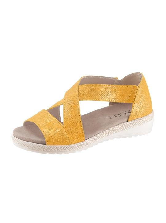 ACO Sandalette - gelb