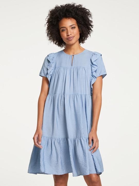 Linea Tesini Kleid - bleu