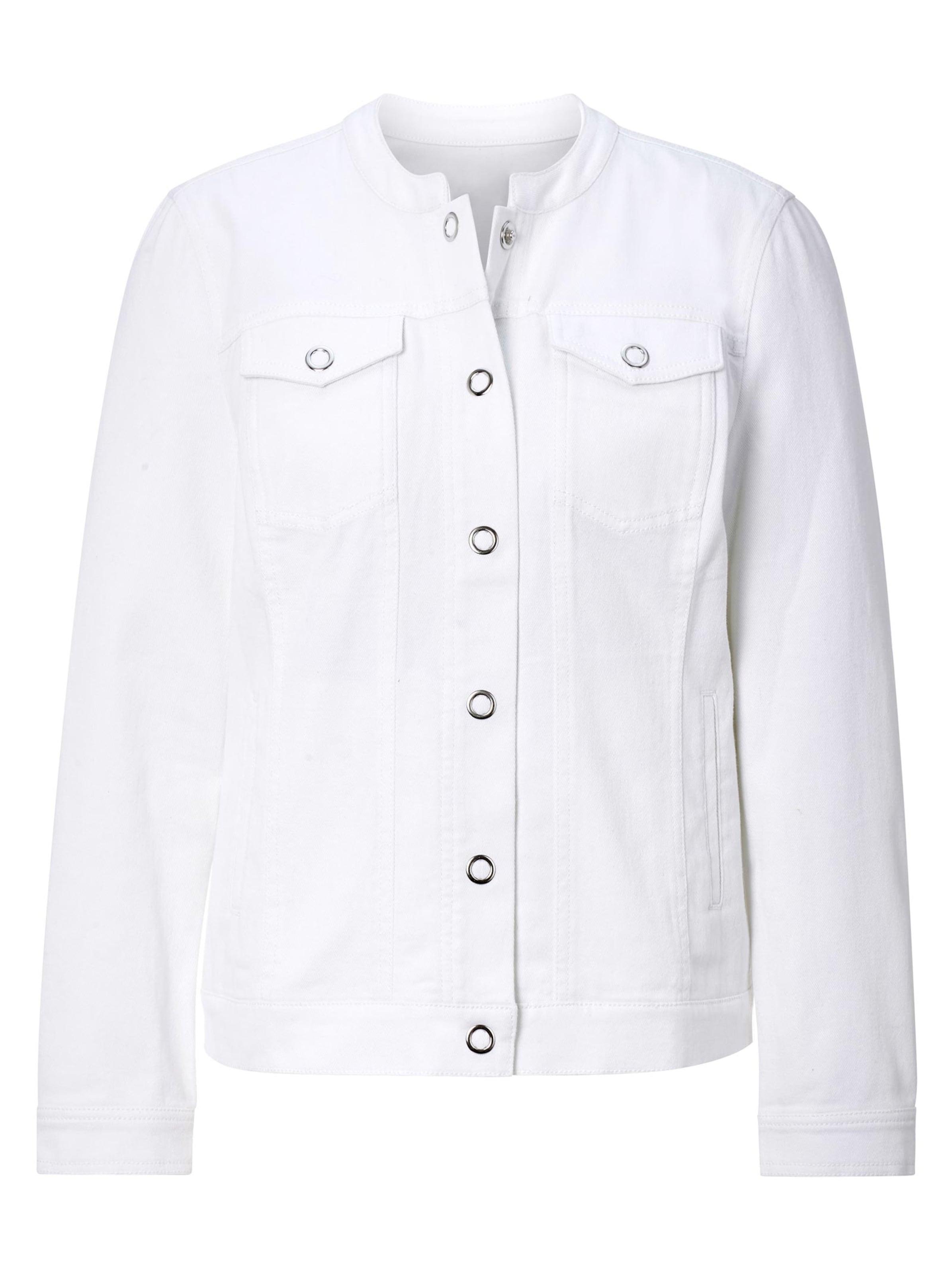 witt weiden -  Damen Jeans-Jacke weiß