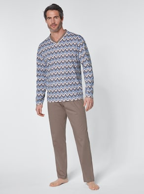 wäschepur Pyjama - taupe