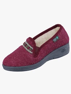 Papuča - bordová