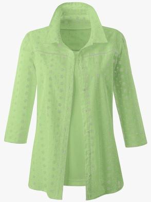 Blusenset - apfelgrün