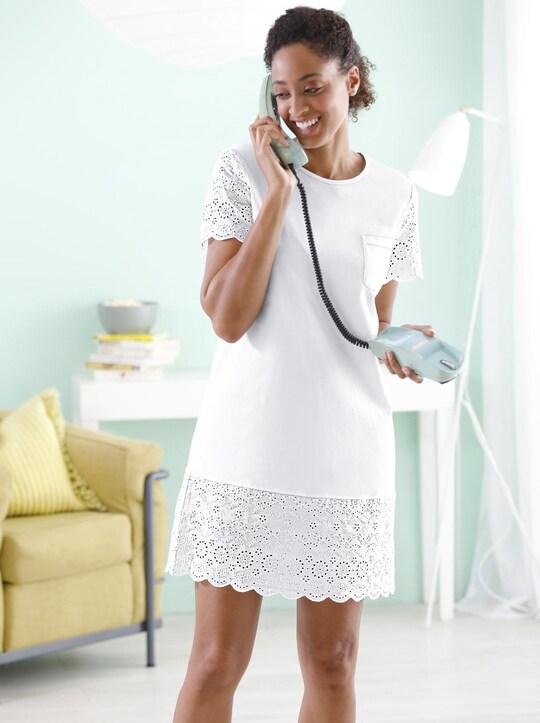wäschepur Nachthemd - weiß
