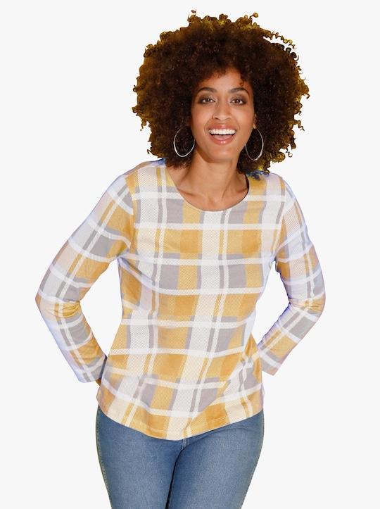 Shirt - geel geruit