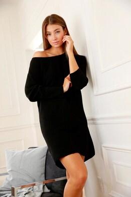 LASCANA Strickkleid - schwarz