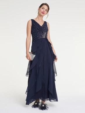 Patrizia Dini Abendkleid - nachtblau