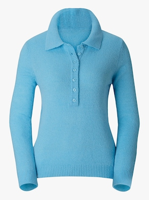Pullover - aqua