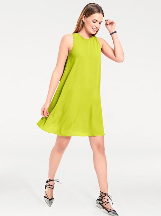 Linea Tesini Shirtkleid - limette