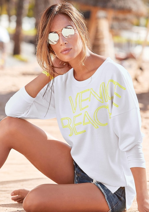 Venice Beach Sweatshirt - weiß