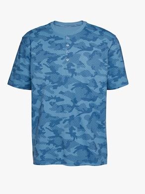 wäschepur Shortys - blau + weinrot