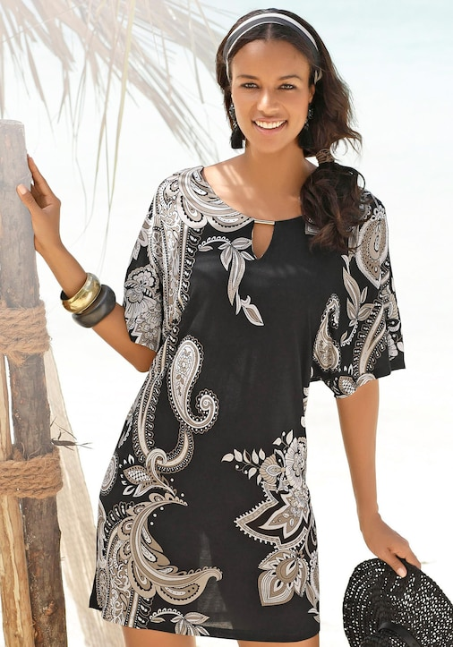 LASCANA Jerseykleid - bedruckt