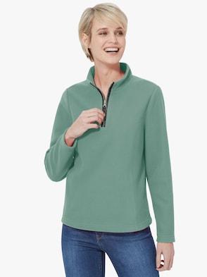 Fleeceshirt - winterturquoise