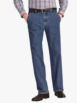 Traveller-Jeans - blue-stone-washed