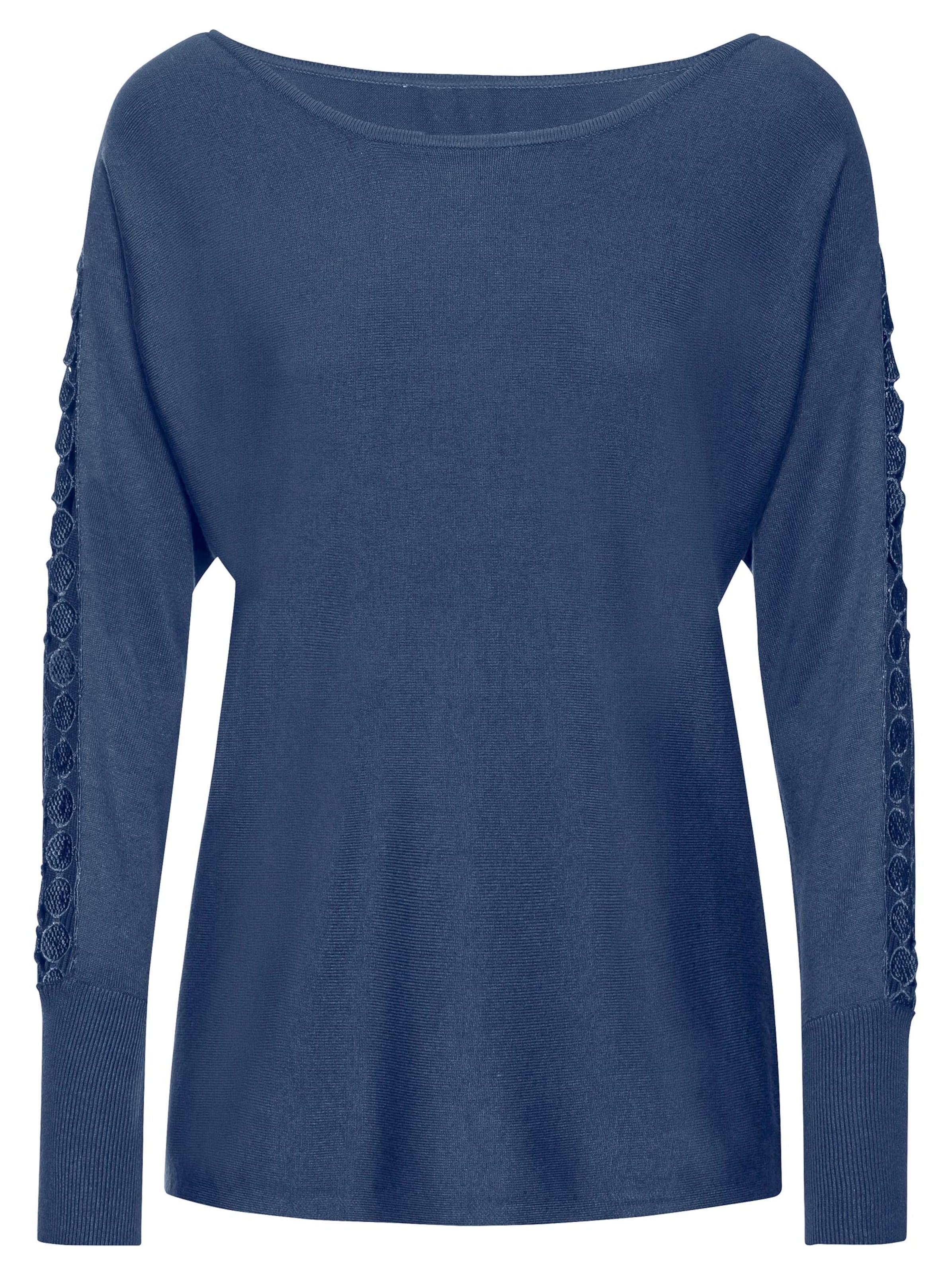 witt weiden -  Damen Pullover jeansblau