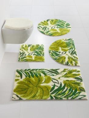 Grund Badgarnitur - weiß-grün