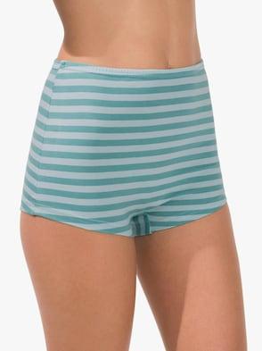 Pants - mint-geringelt