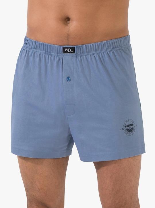 wäschepur Boxershorts - jeansblau