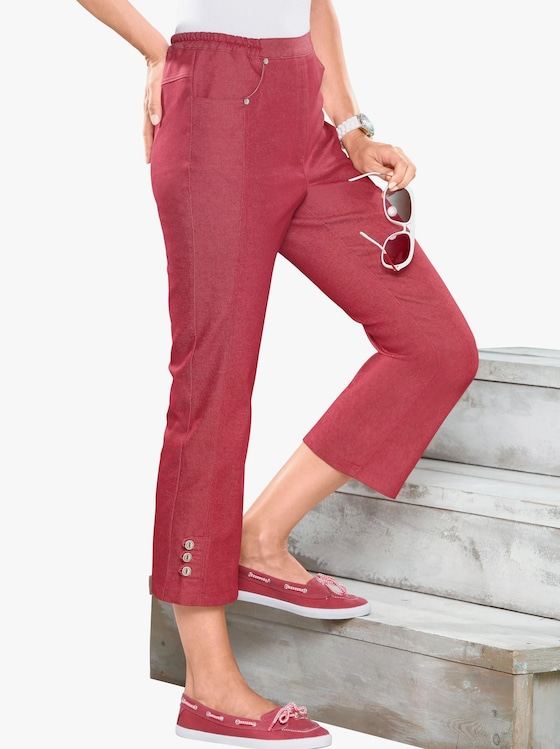 3/4-Jeans - rot