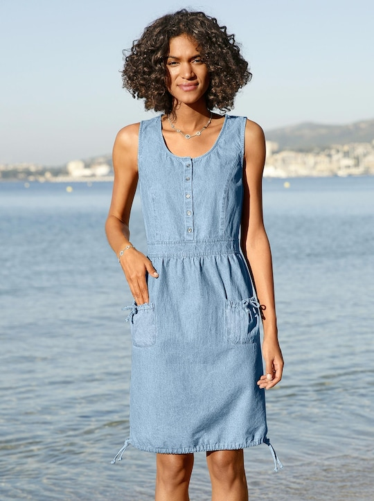 Collection L Kleid - blue-bleached