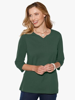 Tričko - jedľová zelená
